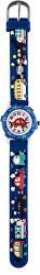 Dětské hodinky s motivem aut - modré