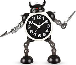 Dětské hodiny Robot s meči - černé