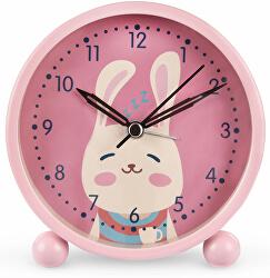 Dětský budík s motivem králíčka