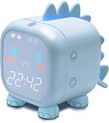 Stolní digitální hodiny - Modrý Dinosaurus