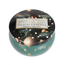 Vonná svíčka v plechovce Vánoční stromeček 125 g