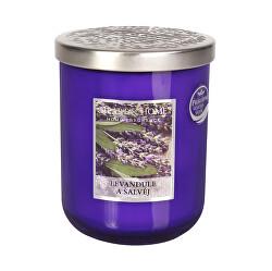 Vonná svíčka velká Levandule a šalvěj 340 g