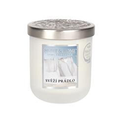 Vonná svíčka střední Svěží prádlo 115 g