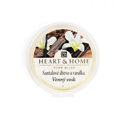 Vonný vosk Santalové dřevo a vanilka 26 g