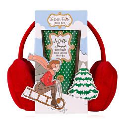 Testápoló ajándékszett fülmelegítővel La Belle Femme Noel