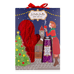 Dárková sada péče o ruce s rukavicemi La Belle Femme Noel