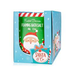 Penivá kúpeľová soľ Santa & Co. (Foaming Bath Salt) 60 g
