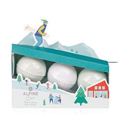 Šumivá bomba Alpine Chic (Bath Fizzer) 3 x 60 g