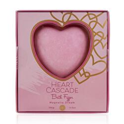 Šumivá bomba do koupele Heart Cascade Magnolia Dream (Bath Fizzer) 100 g