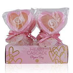 Tuhé glycerinové mýdlo Heart Cascade (Glycerin Soap) 50 g