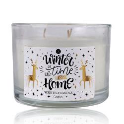 Vonná svíčka Winter Magic (Scented Candle) 11 x 8 cm