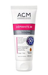 Tónovaný ochranný krém SPF 50+ Dépiwhite M (Tinted Protective Cream) 40 ml
