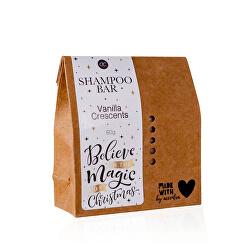 Tuhý šampon Vanilla Crescents Winter Magic (Shampoo Bar) 60 g