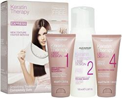 Hajsimító ajándékszett  Lisse Design Keratin Therapy (Smoothing Treatment Kit)