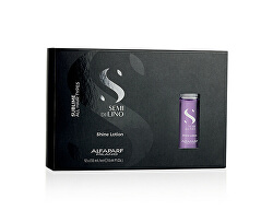 Rozjasňující ošetření pro všechny typy vlasů Semi di Lino Sublime (Shine Lotion) 12 x 13 ml