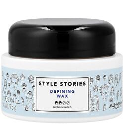 Vosk na vlasy se střední fixací Style Stories (Defining Wax) 75 ml