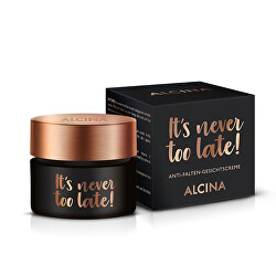 Denní pleťový krém It´s never too late! (Anti-Wrinkle Face Cream) 50 ml