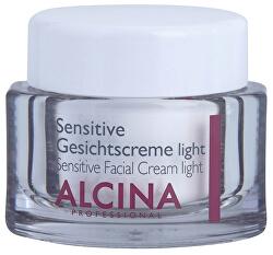 Jemný pleťový krém pro zklidnění a posílení citlivé pleti (Sensitive Facial Cream Light) 50 ml