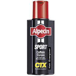 Kofeínový šampón proti vypadávaniu vlasov Šport CTX (Energizer Kofein Shampoo) 250 ml