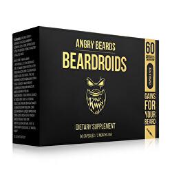 Vitamíny na podporu růstu vousů Beardoids (Dietary Supplement) 60 kapslí