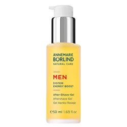 Gel po holení pro muže MEN System Energy Boost (Aftershave Gel) 50 ml
