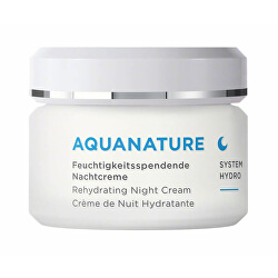 Hydratační noční krém AQUANATURE System Hydro (Rehydrating Night Cream) 50 ml