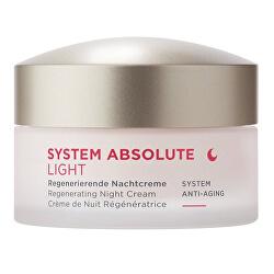 Noční krém Light SYSTEM ABSOLUTE System Anti-Aging (Regenerating Night Cream) 50 ml