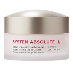 Noční krém SYSTEM ABSOLUTE System Anti-Aging (Regenerating Night Cream) 50 ml