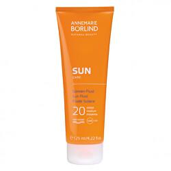 Opalovací fluid proti slunečním alergiím SPF 20 Sun Care (Sun Fluid) 125 ml