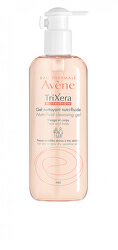 Sprchový gel na obličej a tělo pro suchou a citlivou pokožku TriXera (Nutri-fluid Cleansing Gel) 500 ml