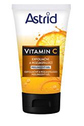 Exfoliační a rozjasňující peelingový gel Vitamin C 150 ml