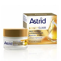Hydratační denní krém proti vráskám s UV filtry Beauty Elixir 50 ml