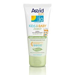 Jemný krém na opalování pro děti OF 30 Sun Kids & Baby 100% minerální filtr 100 ml