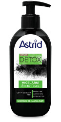 Micelární čisticí gel pro normální až mastnou pleť Detox 200 ml