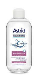 Micelární voda 3 v 1 na tvář, oči a rty pro suchou a citlivou pleť Aqua Biotic 200 ml