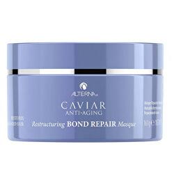 Hloubkově obnovující maska na poškozené vlasy Caviar Anti-Aging (Restructuring Bond Repair Masque) 161 g