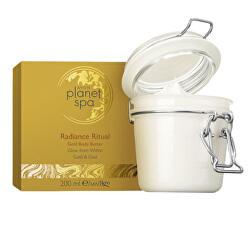 Rozjasňující tělový krém se zlatými částečkami Planet Spa Radiance Ritual (Golden Body Butter) 200 ml