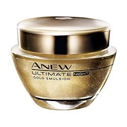 Zlatá noční kúra s Protinolem Anew Ultimate Night Gold Emulsion 50 ml