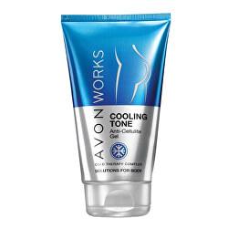 Chladivý gel proti celulitidě s komplexem Cold Therapy Avon Works (Cooling Tone Anti-Cellulite Gel) 150 ml