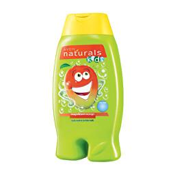 Jemný sprchový gel a pěna do koupele 2 v 1 s mangem Naturals Kids (Magnificent Mango Body Wash and Bubble Bath) 250 ml