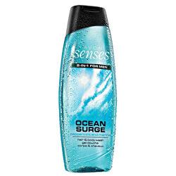 Sprchový gel na tělo a vlasy pro muže Senses Ocean Surge 500 ml
