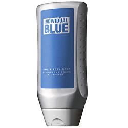 Sprchový gel na tělo a vlasy pro muže Individual Blue (Hair&Body Wash Gel) 250 ml