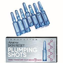 Vypĺňajúci pleťové ampulky Anew Skin Reset Plumping Shots 7 x 1,3 ml