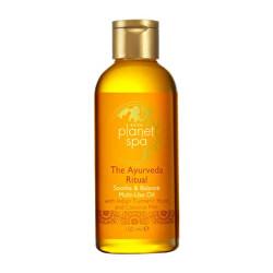 Zklidňující olej na tělo a vlasy s kurkumou a kokosovým mlékem The Ayurveda Ritual (Soothe & Balance Multi-Use Oil) 150 ml