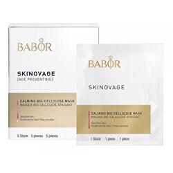 Zklidňující maska pro citlivou pleť Skinovage (Calming Bio-Cellulose Mask) 5 ks