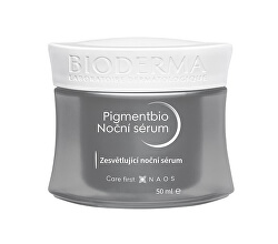 Zesvětlující noční sérum Pigmentbio Night Renewer (Brightening Overnight Care) 50 ml