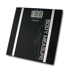 Digitální osobní váha s měřením tuku a vody 40808A