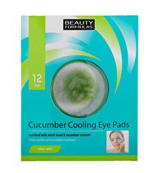 Chladicí polštářky pod oči (Cucumber Cooling Eye Pads) 12 ks