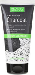 Detoxikační emulze s aktivním uhlím Charcoal (Detox Cleanser) 150 ml
