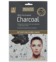 Detoxikační maska s aktivním uhlím Charcoal (Detoxifying Bubble Mask) 1 ks
